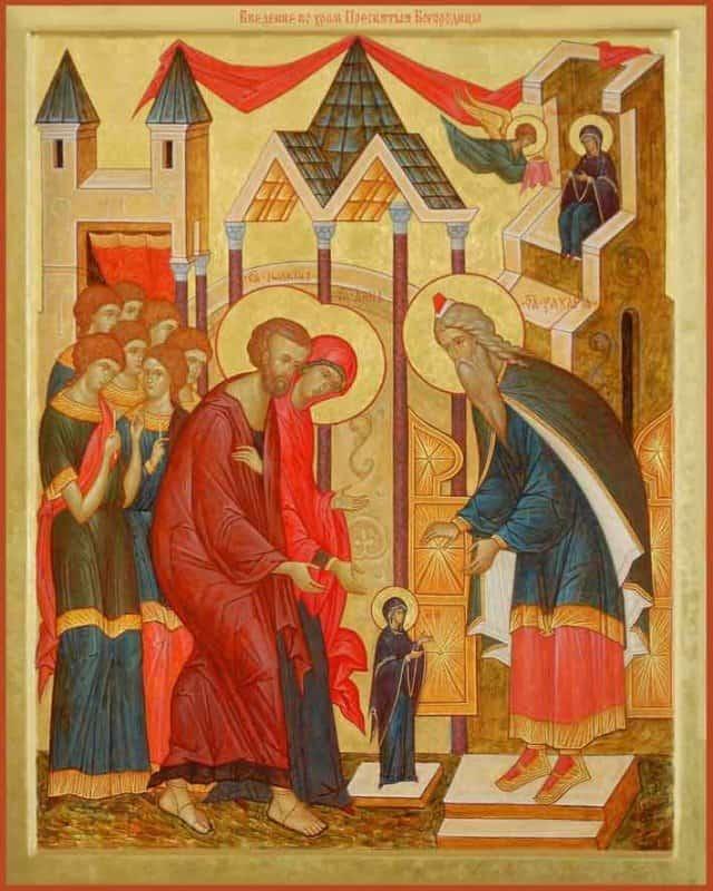 Картинки по запросу Введение во храм Божией Матери