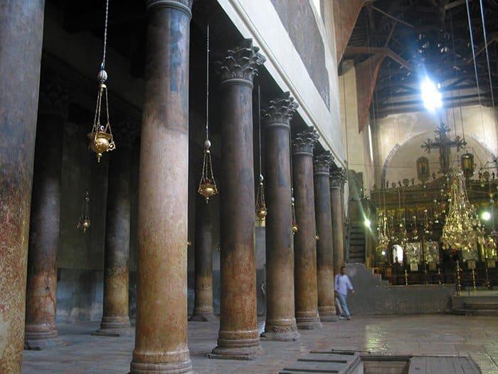 Внутренний вид храма