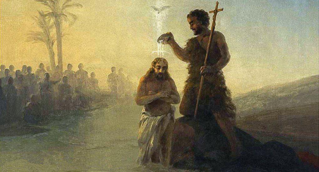 Крещение Иисуса Христа в Евангелии от Матфея