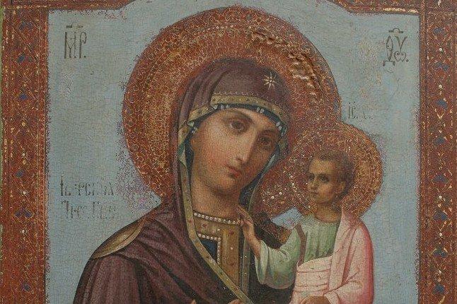 Иверская икона Божией Матери. Иконография