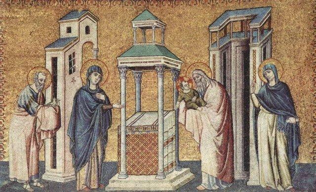 15февраля Православная Церковь отмечает Сретение Господне