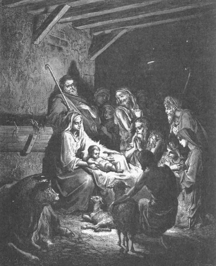 Гюстав Доре. Рождество Христово