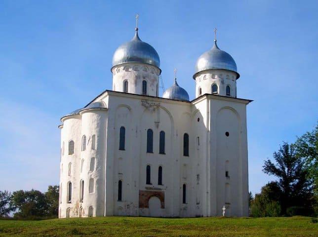 Храм, Георгиевский собор Новгород