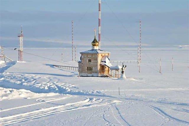 В Арктике установят два мобильных воинских храма