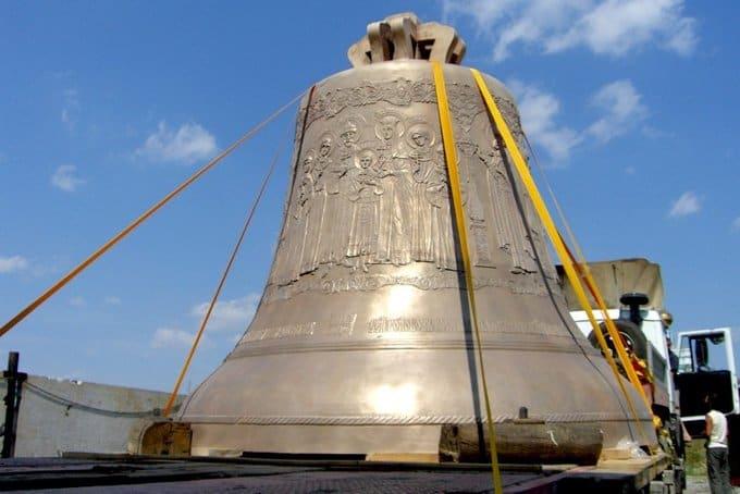 В Москве представят 18-тонный колокол «Александр Невский»