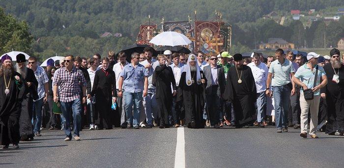 крестный ход, патриарх Кирилл