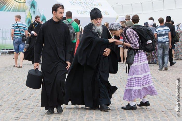 паломники, епископ Пантелеимон (Шатов)