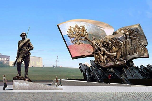 Память героев Первой мировой войны увековечат на Поклонной горе
