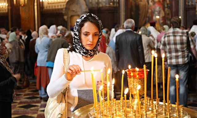 Большинство россиян считают, что православие необходимо стране
