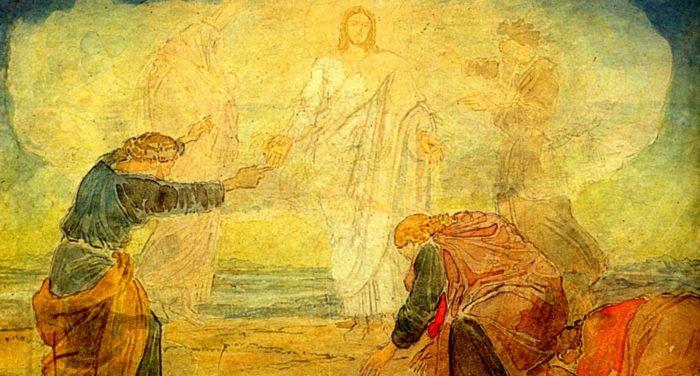 Преображение Господне: фрески и картины