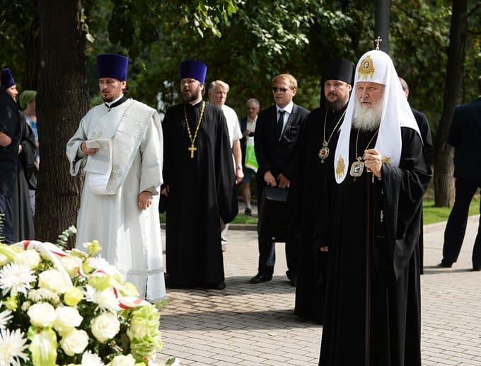 Первая мировая стала войной за сохранение православия, считает патриарх Кирилл