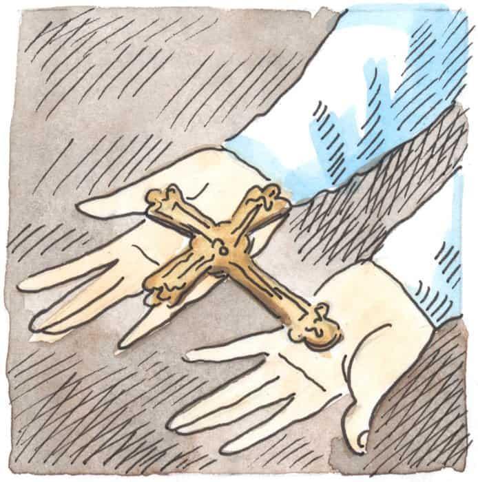 В 17 лет Прохор попросил благословение матери уйти в монастырь. Агафья уже давно поняла, что ее сын избран Богом, и не стала препятствовать его решению, а благословила и подарила Прохору медный крест. Этот дар подвижник носил на себе до самой кончины.