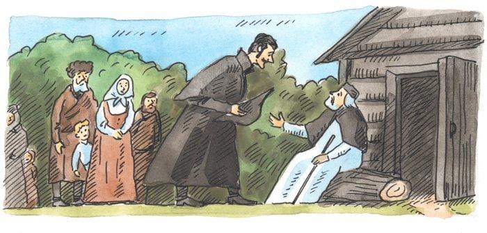 В 1815 году старец распахнул двери своей кельи — он хотел поделиться с людьми той любовью, которая наполняла его сердце. Для каждого у него находилось нужное слово. Старец обращался ко всем своим гостям «радость моя», ведь наивысшей радостью для него был именно человек. Отец Серафим мирно отошел ко Господу 2 января 1833 года. Его нашли стоящим на коленях в молитве, со сложенными крестообразно руками.