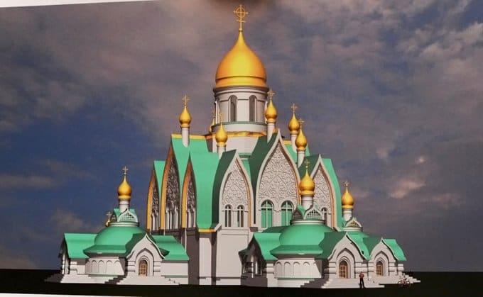 На юге Москвы возведут храм в стиле начала ХХ века в честь Димитрия Донского