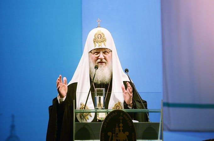 У учащихся должна формироваться целостная картина мира, - патриарх Кирилл