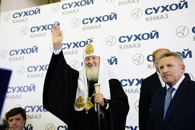 Патриарх Кирилл назвал Комсомольск-на-Амуре православной землей