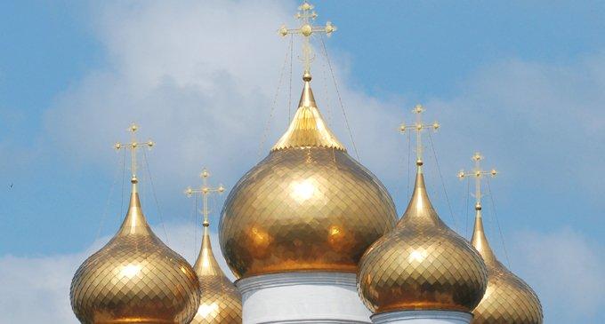 Почему купола храмов кроют золотом?