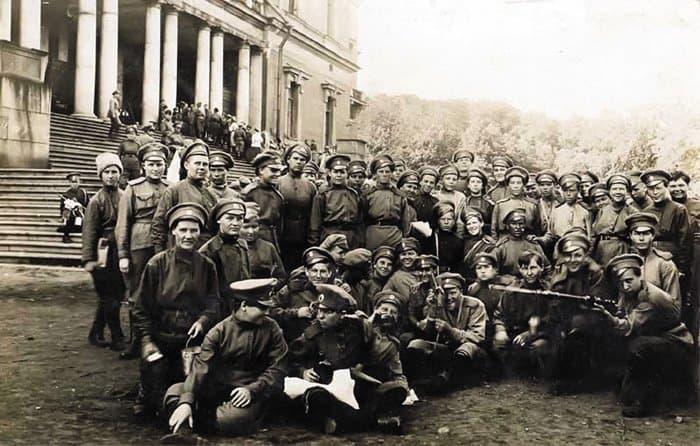 Батальон смерти уИнженерного замка — места дислокации вПетрограде. 1917