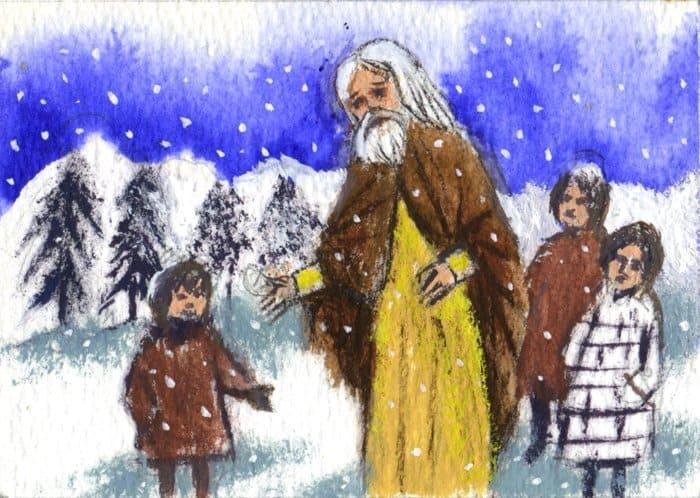 Инок Герман поселился на маленьком островке Еловом, который он называл Новым Валаамом, и жил там в уединении более сорока лет. Он кормил и одевал алеутских сирот, заступался за аборигенов перед чиновниками компании, лечил больных, помогал нуждающимся. Алеуты часто приходили к нему за советом и утешением. Монах Герман особенно радовался детям и часто пек для них крендельки.
