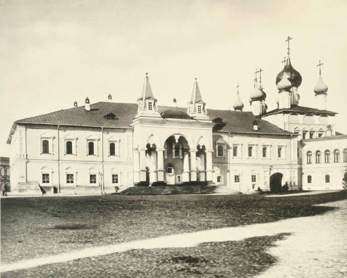 Чудов монастырь. Фото 1883 г.