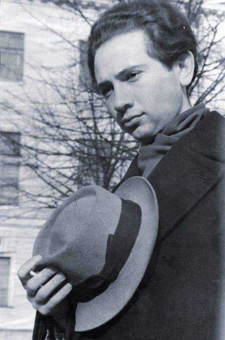 Андрей Золотов— студент МГУ. Фото 1953 г.