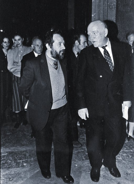 Со Святославом Рихтером