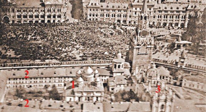 Для восстановления кремлевских монастырей используют фото 1918 года