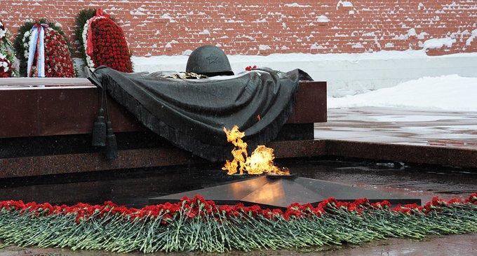 Неизвестного солдата будут вспоминать 3 декабря
