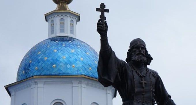 В Малоярославце открыли памятник священнику – герою 1812 года