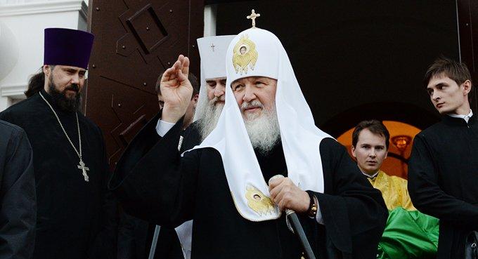 Патриарх Кирилл считает, что люди важнее материальных памятников культуры