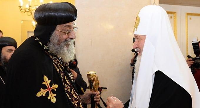 Патриархи Кирилл и Феодор II обсудили ближневосточные гонения на христиан