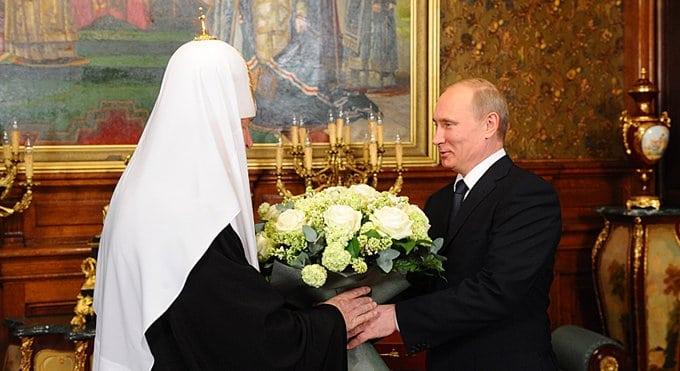 Президент поблагодарил патриарха Кирилла за укрепление единства среди россиян