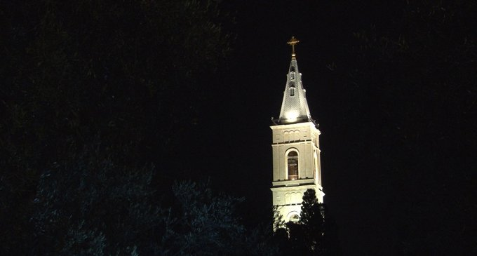 «Русскую свечу» в Иерусалиме отреставрировали и «зажгли»