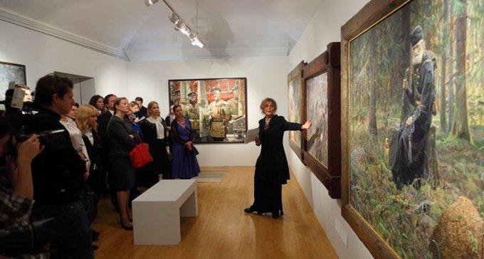 Первая посмертная выставка Павла Рыженко открылась в Москве