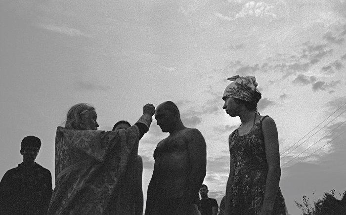 Мологские стояния в Брейтове. Крещение на берегу Рыбинского водохранилища
