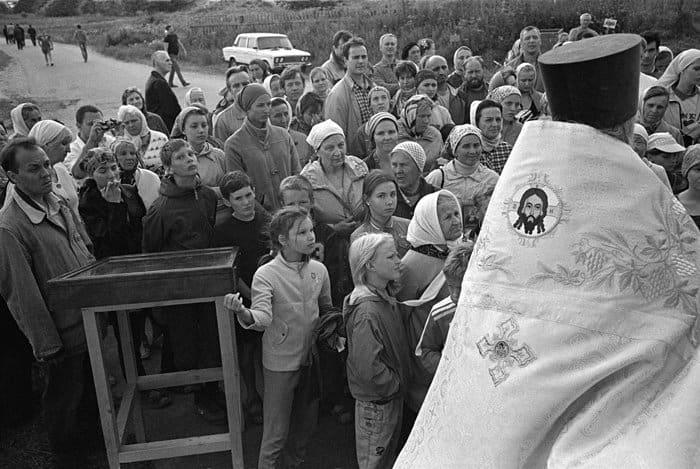 Каждый год на Мологские стояния приезжают верующие из разных городов России