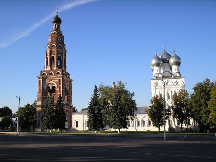 Соборный комплекс города Бронницы