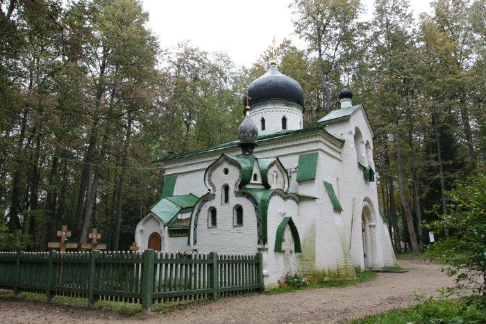Церковь Спаса Нерукотворного Образа в Абрамцеве