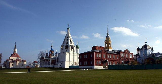 Монастыри и церкви Коломенского кремля XVI-XIX века