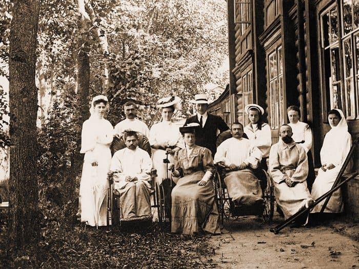 Лазарет Елизаветы Федоровны в Ильинском. 1906