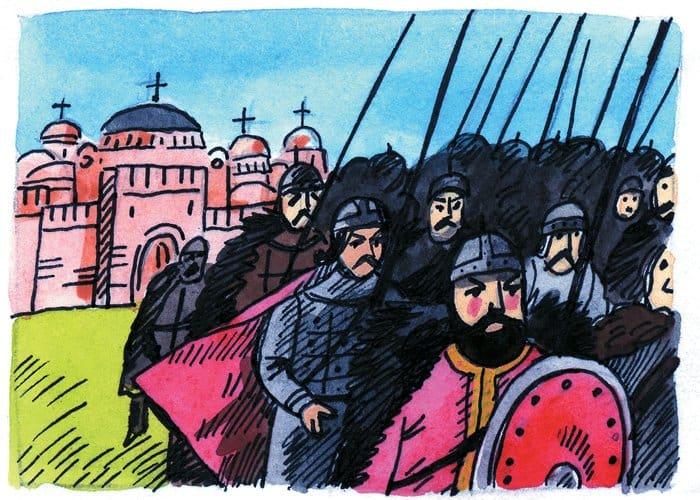 Вражеские войска отступили от Константинополя. Явление Богородицы и ее Покрова было знаком заступничества сил небесных за христианский народ.