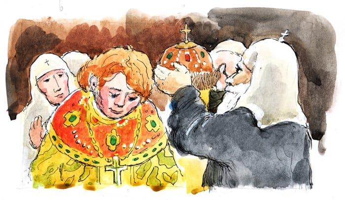 Желая возблагодарить Бога и Богородицу за помощь, 1 ноября земские ополченцы совершили крестный ход с иконами и молитвенными песнопениями. Когда они подошли к Лобному месту на Красной площади, из Кремля им навстречу вышли архиереи с чудотворной иконой Богородицы.