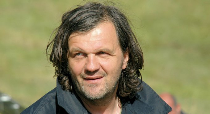 Сербский кинорежиссер Эмир Кустурица отмечает 60-летие