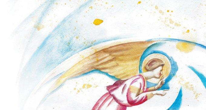 Ангел. Рисунок Марии Заикиной