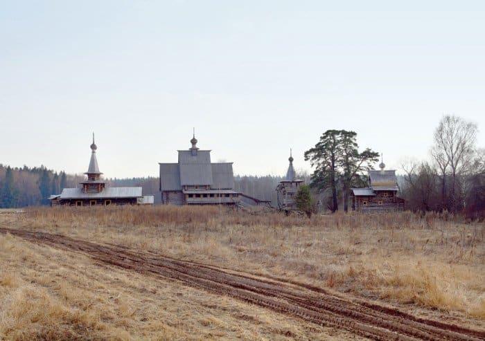 Церковь Спаса-Преображения Урочища Введенское-Борисовки