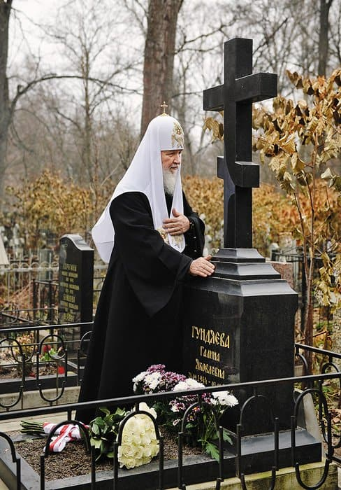 Фото предоставлено пресс-службой Патриарха Московского ивсея Руси