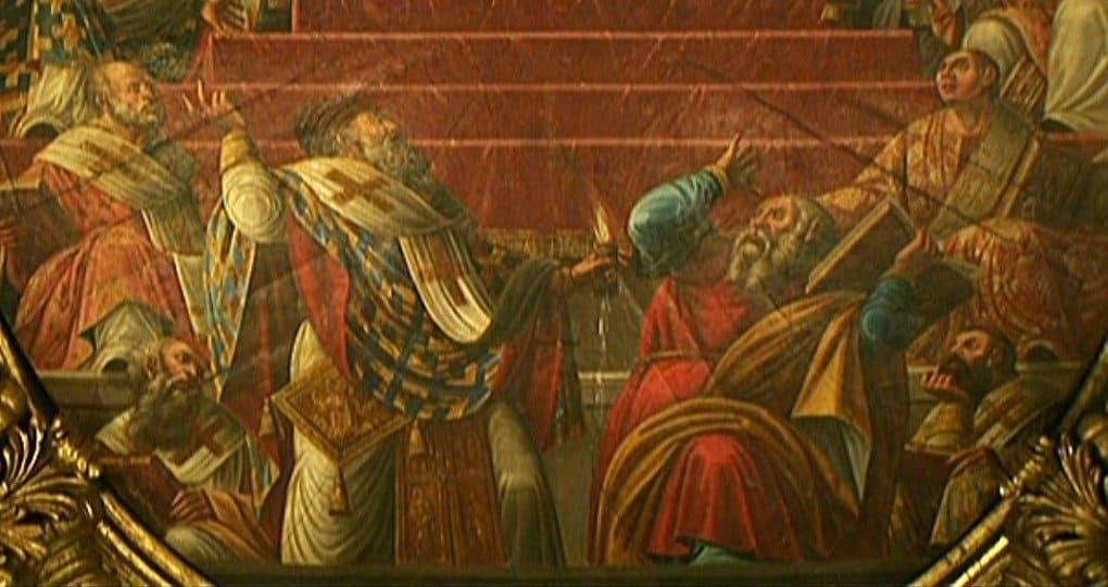 Роспись храма Святителя Спиридона Тримифунтского о. Корфу.