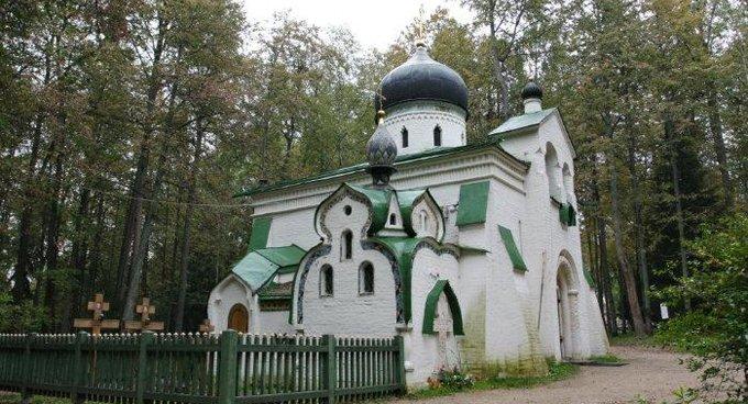 В Абрамцево возродили храм с росписью классиков живописи
