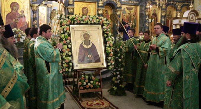 Иконе святого Сергия Радонежского поклонились 10 тысяч уральцев