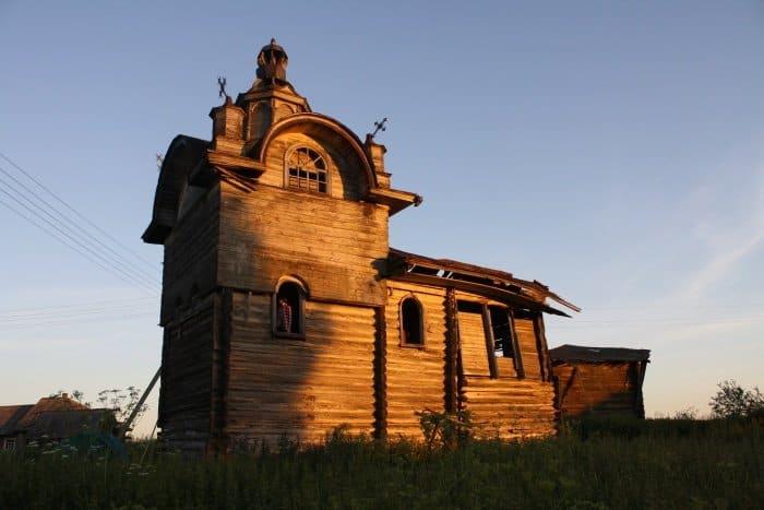Троицкая часовня в д. Тинготома